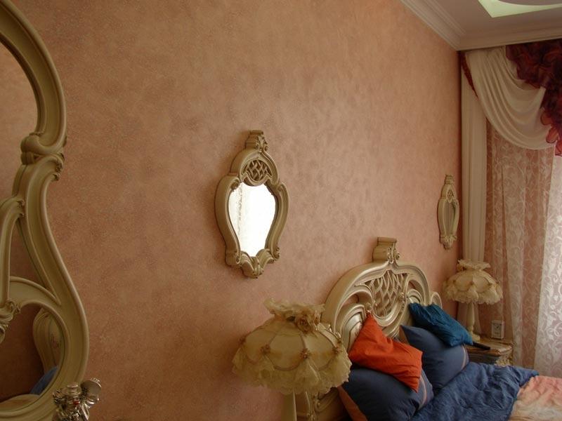Декоративна фарба з ефектом замші