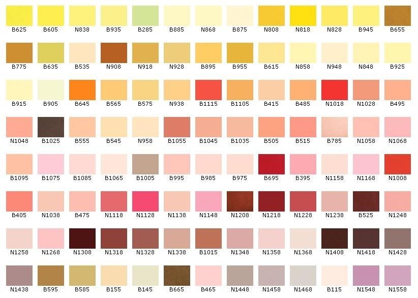 все цвета красок для стен фото каталоге нашего