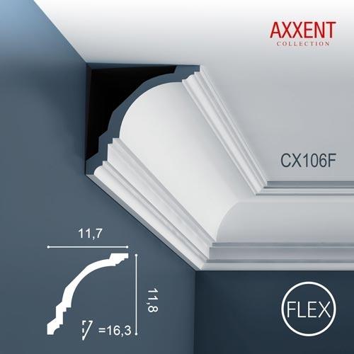 Карниз Orac Decor (Орак Декор) Axxent CX106F