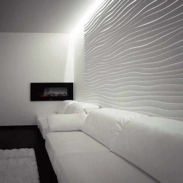 Купить 3D панели Wave Degesso | Цена на гипсовые 3Д панели для стен в  Украине Prof-Decor