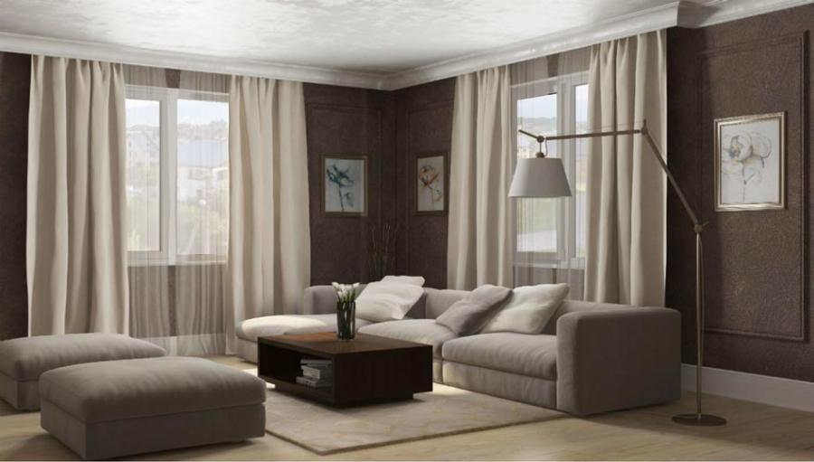 Apartment design with large terrace decors yirrma