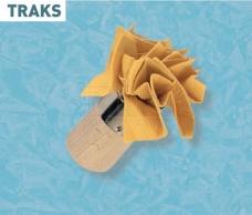 Traks Тампон з дерев'яною ручкою 43710 Boldrini