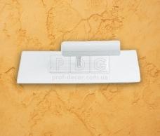 Шпатель пластиковий прямокутний 62900 Boldrini (24х10см)