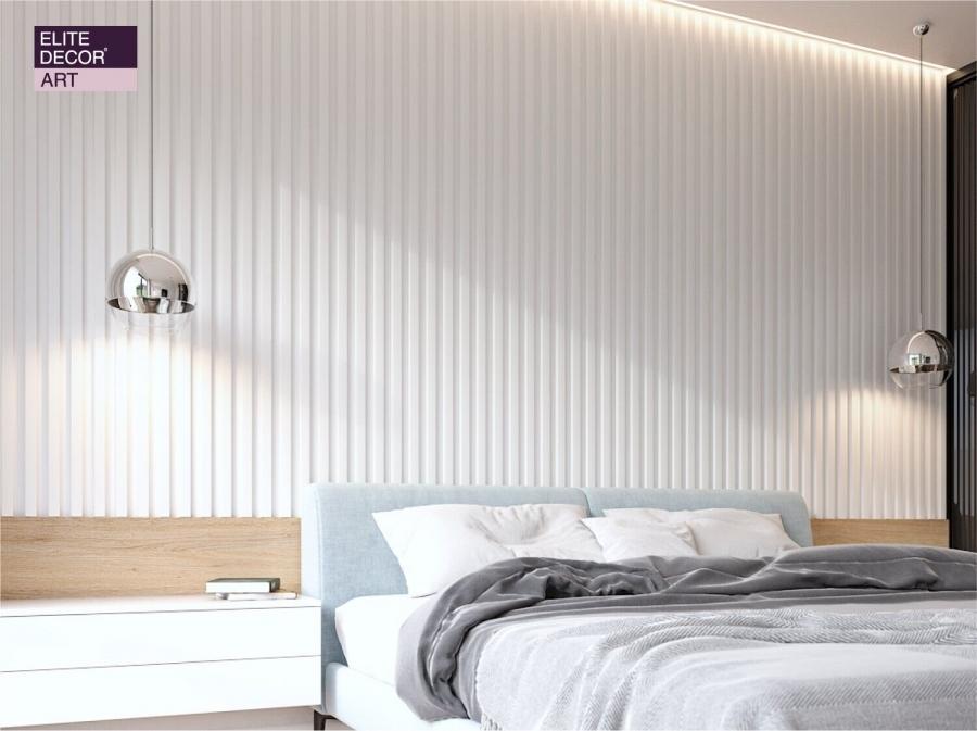 3D Панель Art Decor (Арт Декор) Рейки W 364
