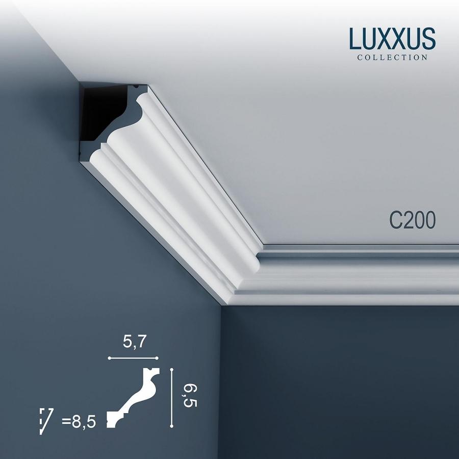 Карниз Orac Decor (Орак Декор) Luxxus C200