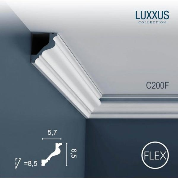 Карниз Orac Decor (Орак Декор) Luxxus C200F