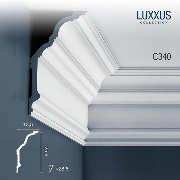 Карниз Orac Decor (Орак Декор) Luxxus C340