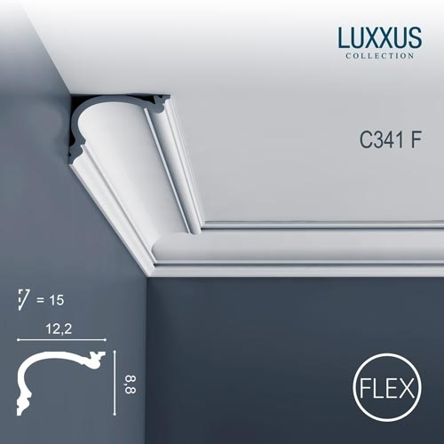 Карниз Orac Decor (Орак Декор) Luxxus C341F