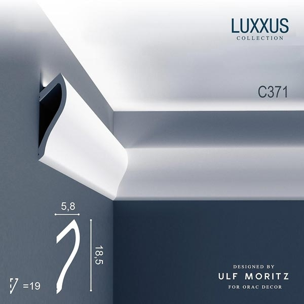 Карниз Orac Decor (Орак Декор) Ulf Moritz Luxxus C371
