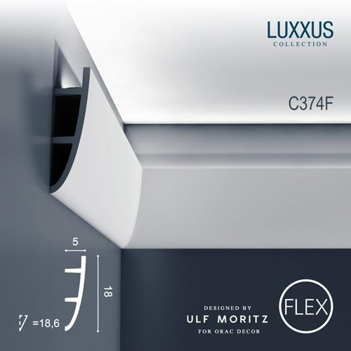 Карниз Orac Decor (Орак Декор) Ulf Moritz Luxxus C374F