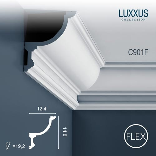 Карниз Orac Decor (Орак Декор) Luxxus C901F