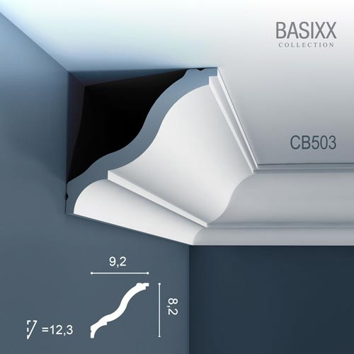 Карниз Orac Decor (Орак Декор) Basixx CB503N