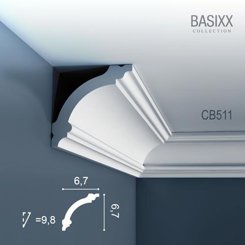 Карниз Orac Decor (Орак Декор) Basixx CB511N