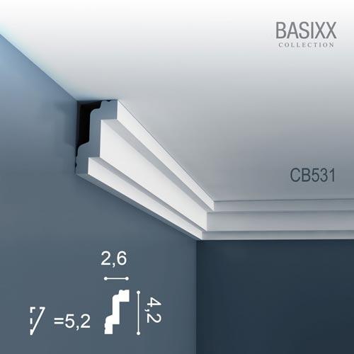 Карниз Orac Decor (Орак Декор) Basixx CB531N