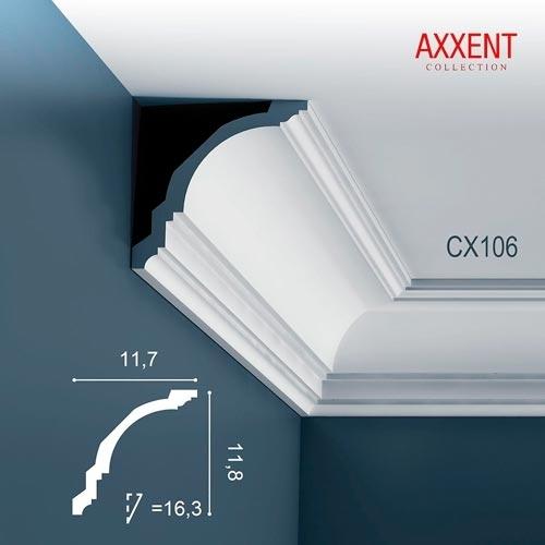 Карниз Orac Decor (Орак Декор) Axxent CX106
